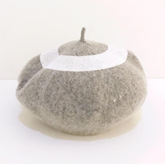 ○ベレー帽 GRAY  / 1810-813
