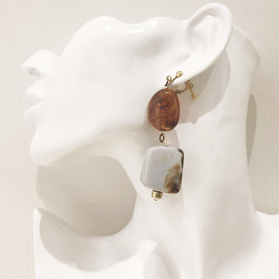LINK earring #240 (金属アレルギー対応) ※代引不可