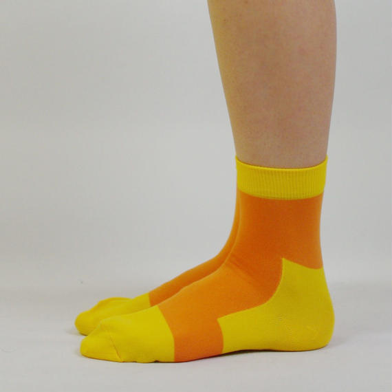 LET'S GO SOCKS / 20 YELLOW