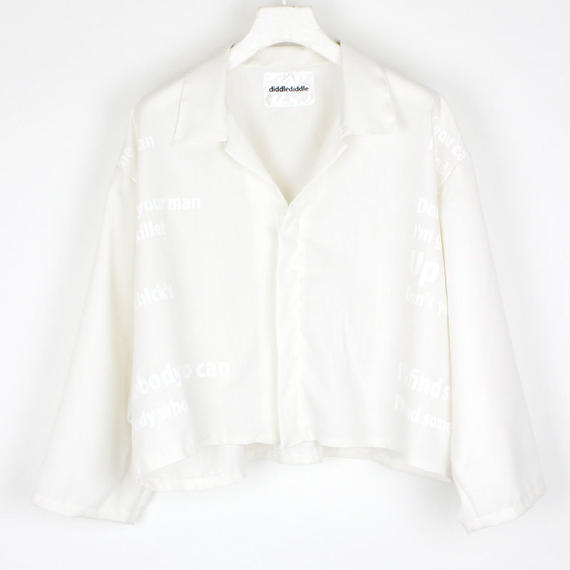 THEE BLOUSON / 11 WHITE