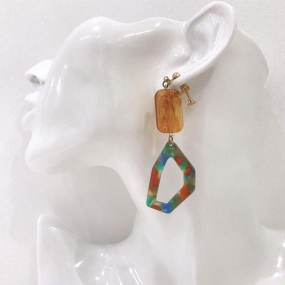 LINK earring #229 (金属アレルギー対応)  ※代引不可