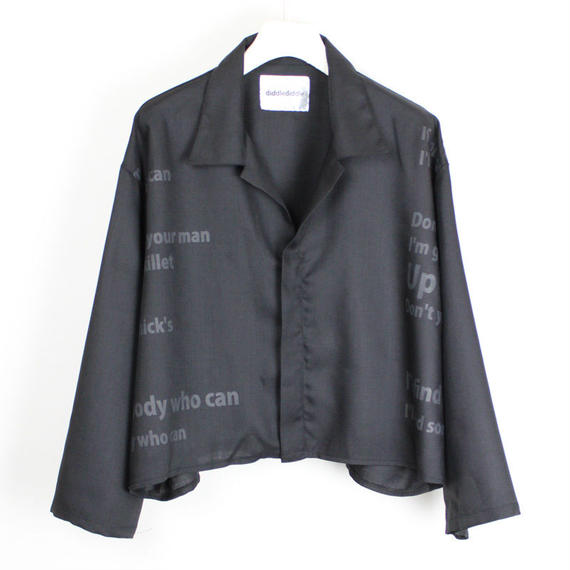 THEE BLOUSON / 99 BLACK