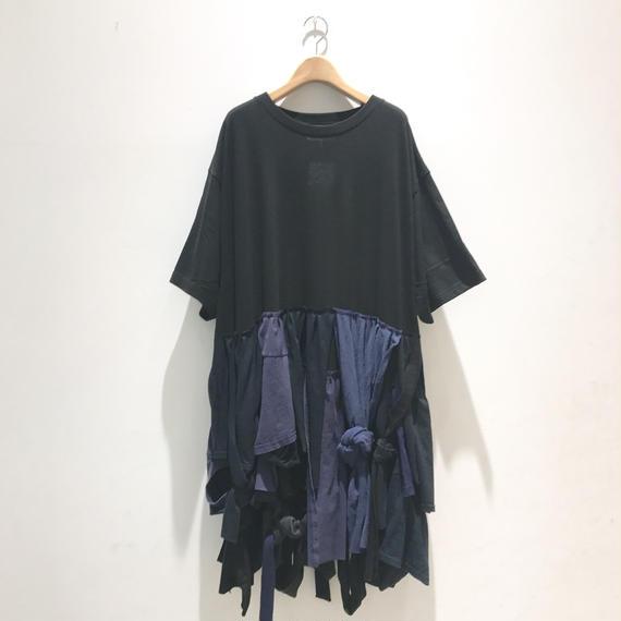 00○○ 断片ワンピース / 1808-55(ネイビー混)