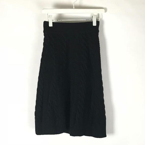 ニットスカート / 1810-666 BLACK