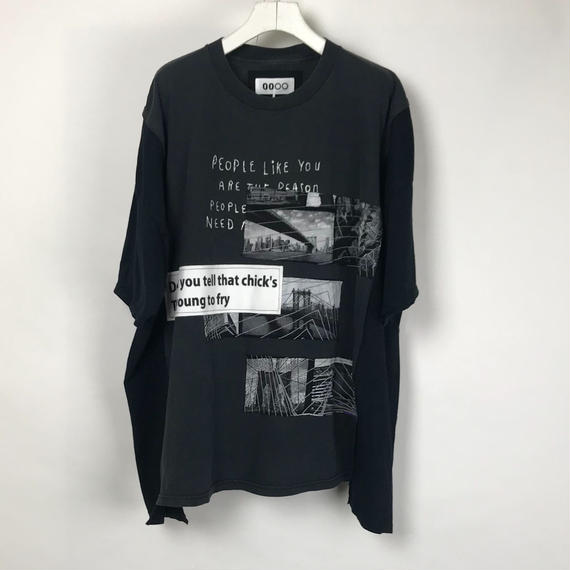 00○○ ワイドTシャツ / 1804-35