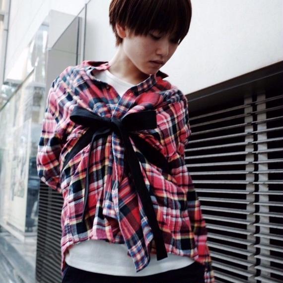 00○○ ワイドベルトシャツ/ 1811-13