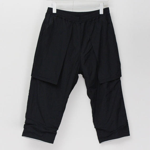 DOUBLE PANTS / 99 BLACK