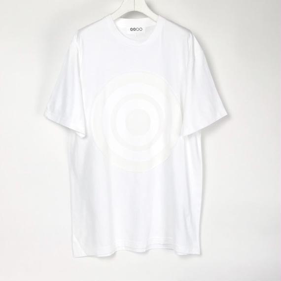 00〇〇 ホワイトリボンTシャツ /  WHITE-WHITE