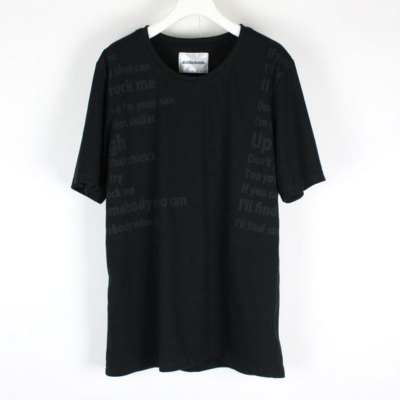 BRAH T-SHIRTS / 99 BLACK