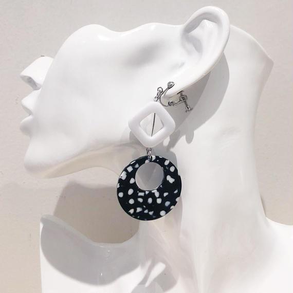 LINK earring  #302 (金属アレルギー対応) ※代引不可