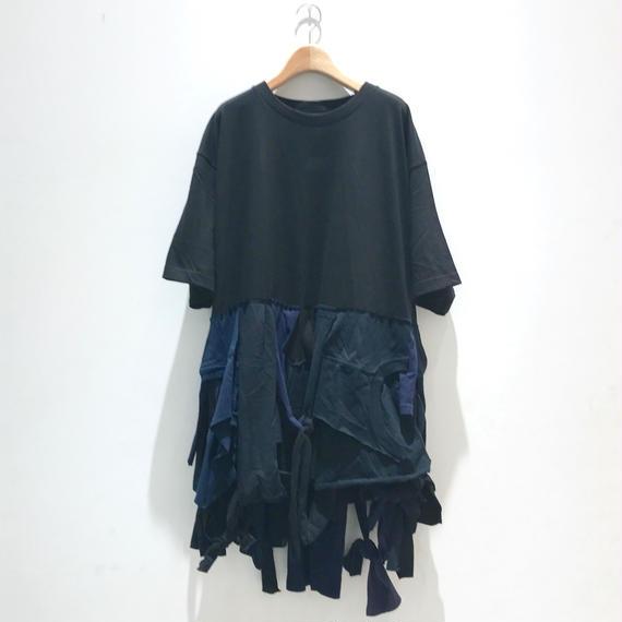00○○ 断片ワンピース / 1808-52(ネイビー混)