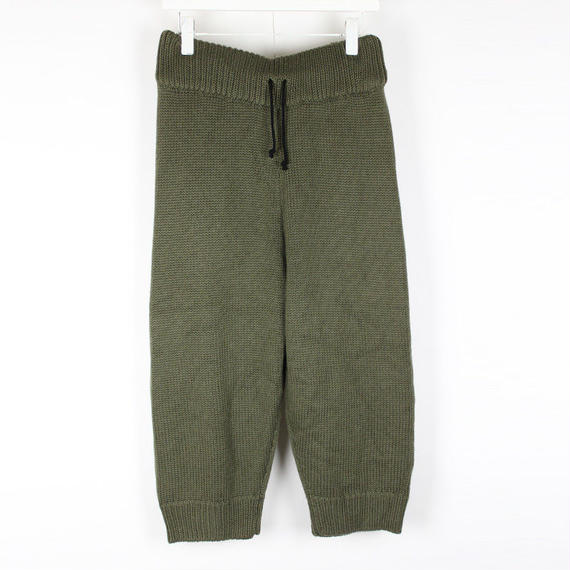 SOFT KNIT PANTS / KHAKI