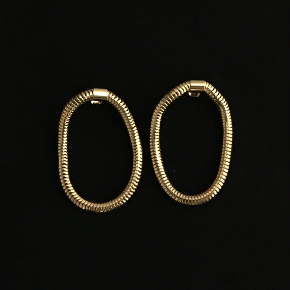 circle design pierce  / 13 #GOLD
