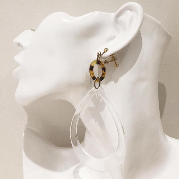 LINK earring #232 (金属アレルギー対応)  ※代引不可