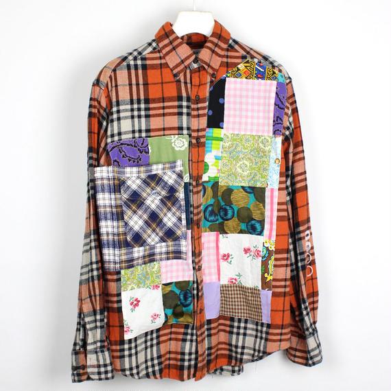 00○○ チェックオンシャツ / SN001710-06