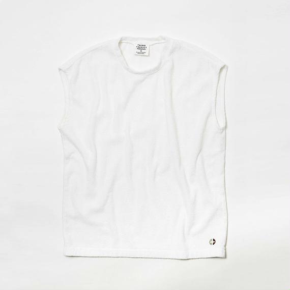 THING FABRICS スリーブTシャツ(White)