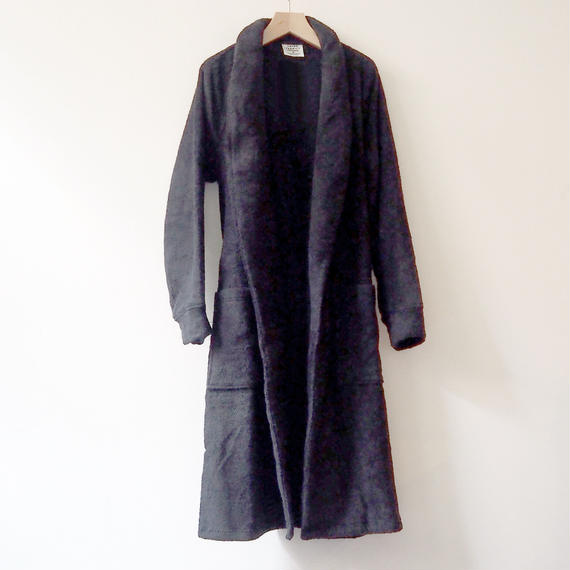 THING FABRICS   Bath robes (Long Pile)  Black