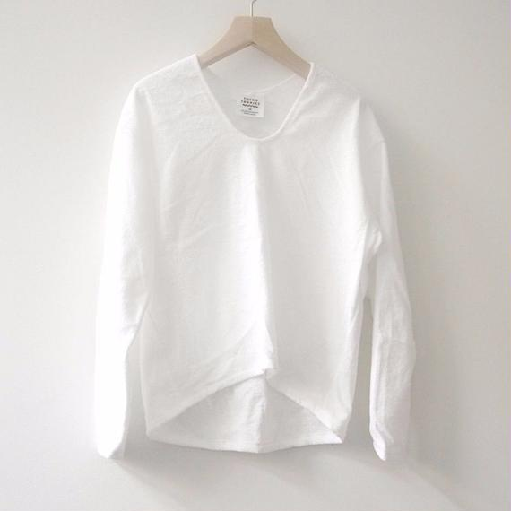THING FABRICS プルオーバーシャツ(White)