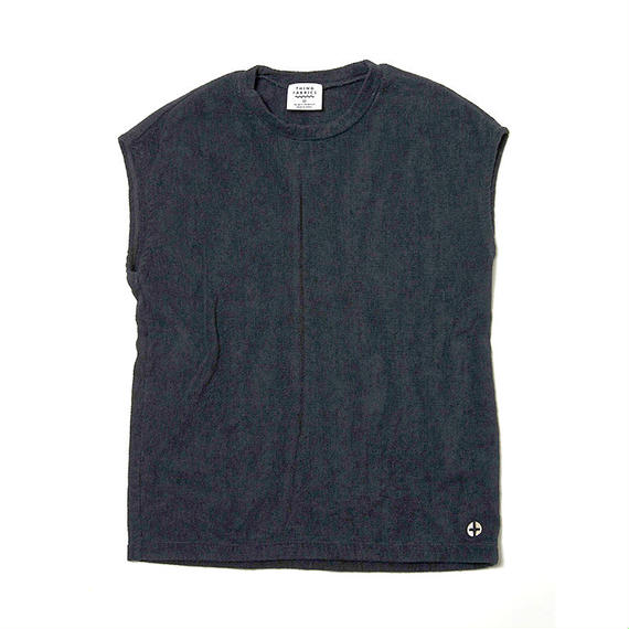 THING FABRICS スリーブTシャツ(Black)