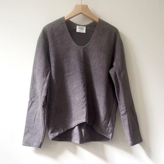 THING FABRICS  プルオーバーシャツ(gray)