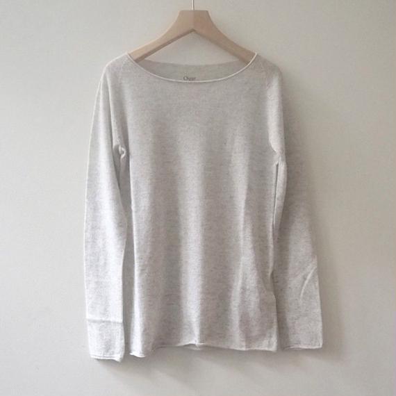 Ouur カシミヤシルクセーター(Light gray)