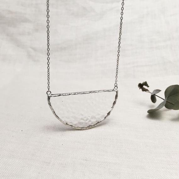 Semi circle Necklace - 凹凸