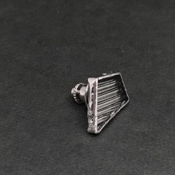 [NEW] 2018 s/s Silver Glass Pin Badge カケラタイタックピン(ピンブローチ)