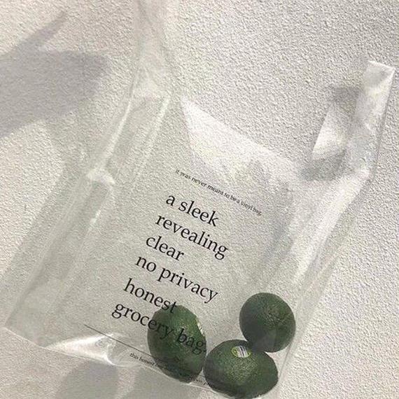 【To U DEPARTMENT】PVC SHOPPING BAG