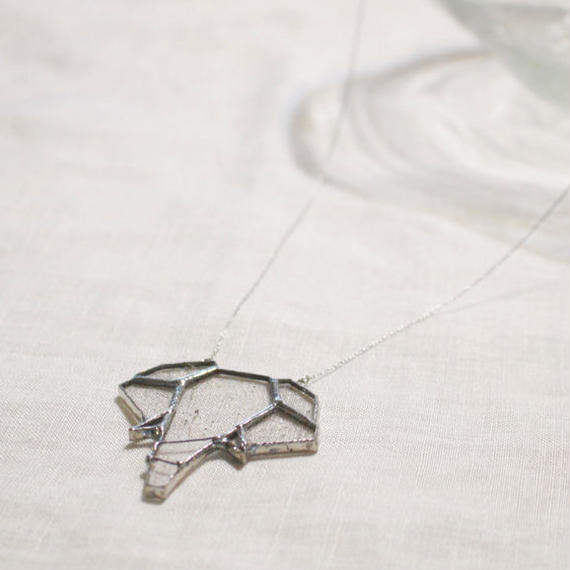 【doro】ELEPHANT  NECKLACE | CLEAR