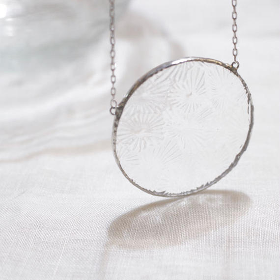 【doro】CIRCLE NECKLACE  / CLEAR