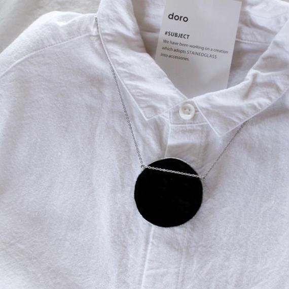【doro】CIRCLE NECKLACE  / BLACK