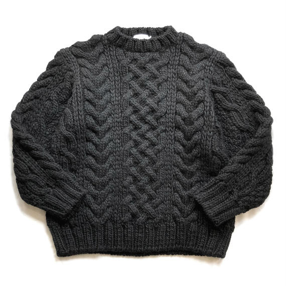 Graphpaper  Big Cable Hand Knit
