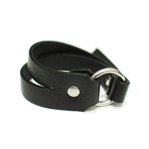 JOHN LAWRENCE SULLIVAN LEATHER BRACELET