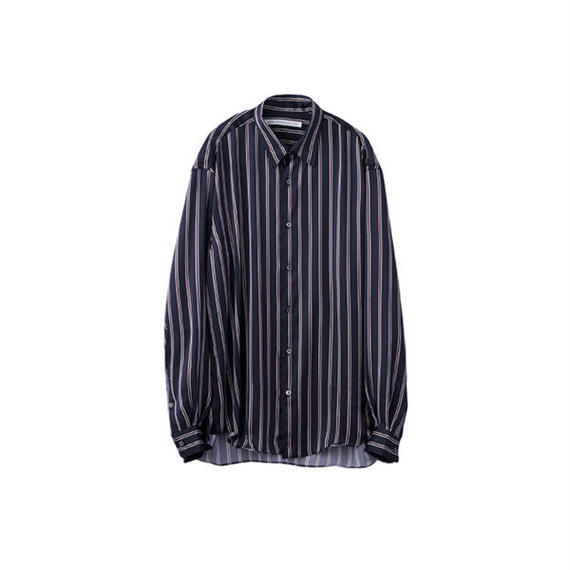 "JOHN LAWRENCE SULLIVAN""STRIPE REGULAR COLLAR SHIRT"""