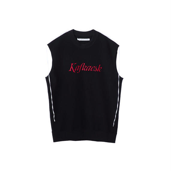 JOHN LAWRENCE SULLIVAN Kafkaesk SLEEVELESS TOPS