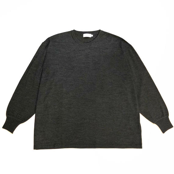 Graphpaper Washable Wool Crew Neck Big Knit