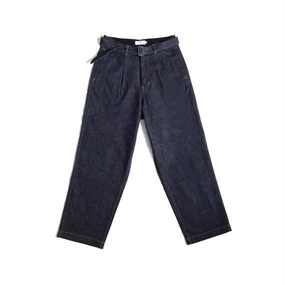 Graphpaper  Colorfast Denim Belted Pant