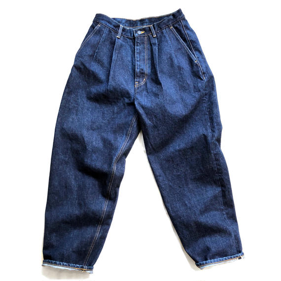 Graphpaper  Denim Two Tuck Pants