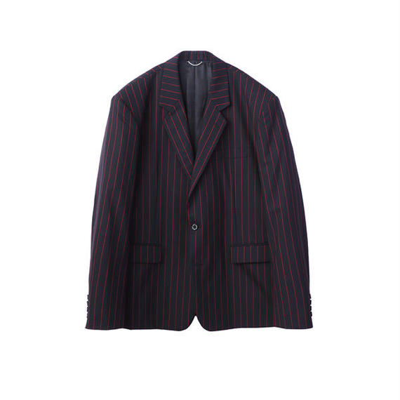 JOHN LAWRENCE SULLIVAN  STRIPE 2BUTTON JACKET