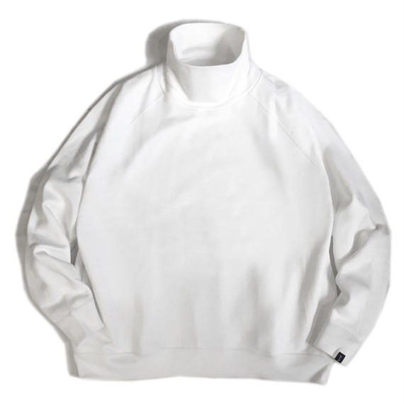 LOOPWHEELER for Graphpaper  HIGH NECK SWEAT