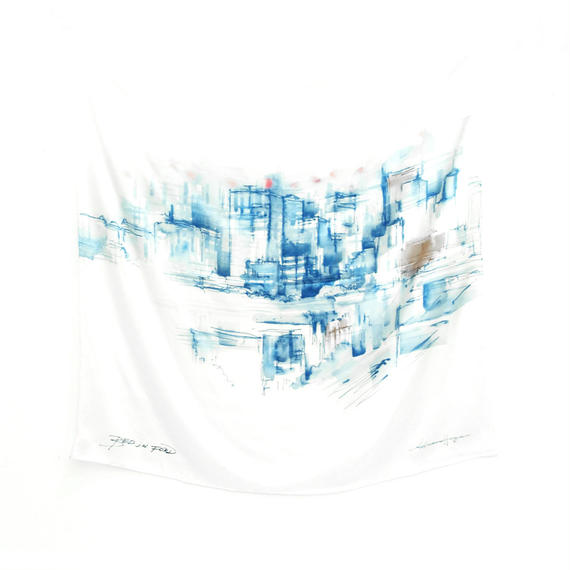 BED J.W. FORD  SILK SCARF""