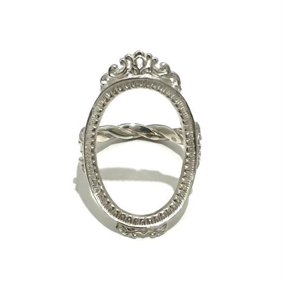 BED J.W. FORD Silver Ring.