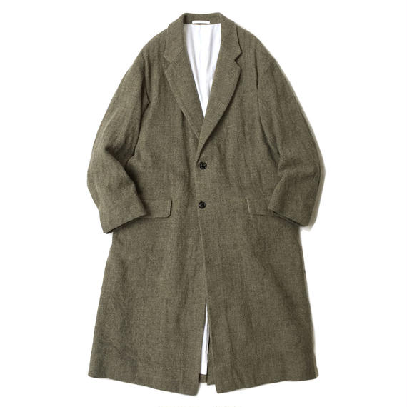 Graphpaper  KIBATA Coat w/ Special Lue Brass Buttons