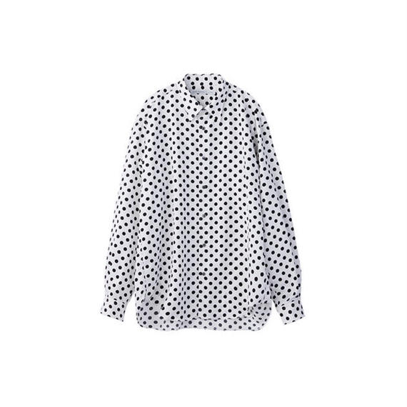 "JOHN LAWRENCE SULLIVAN ""REGULAR COLLAR DOT SHIRT"""