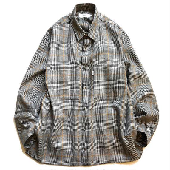 Graphpaper Glencheck Wool L/S Shirt