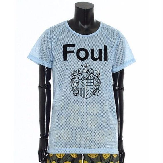 FoulプリントメッシュTシャツ / 73