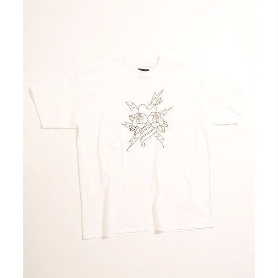TattooプリントビッグTシャツ / 01