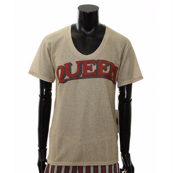 QUEENメタリックTシャツ / 56