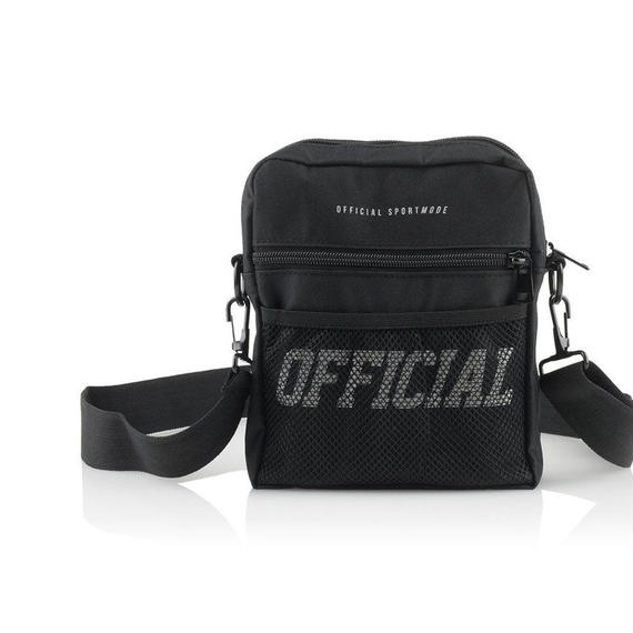 【OFFICIAL】MELROSE HIP UTILITY BAG BLACK
