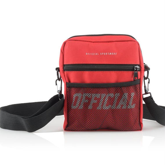 【OFFICIAL】MELROSE HIP UTILITY BAG RED